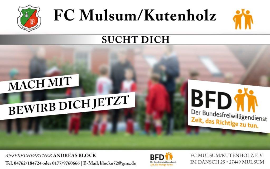 FSJ beim FC für die Saison 2020/2021 – Wir suchen DICH!