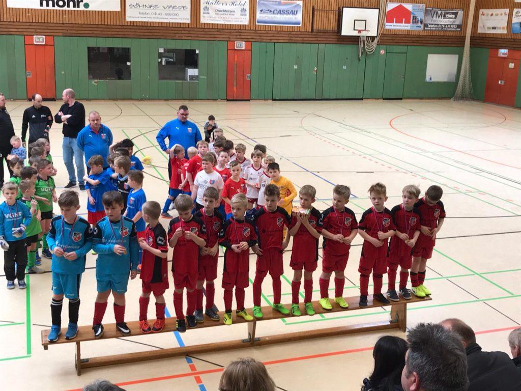 """Team 2012 beim """"Landbäckerei Lünstedt Cup"""""""