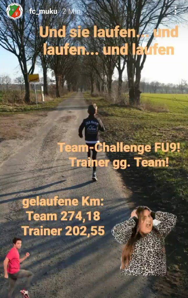 Update: Woche 2 der FU9-Challenge
